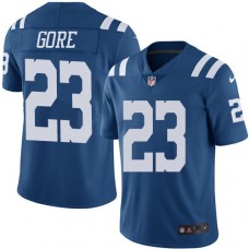 2016 Nike Indianapolis Colts 23 Frank Gore Royal Blue Mens Stitched NFL Limited Rush Jersey