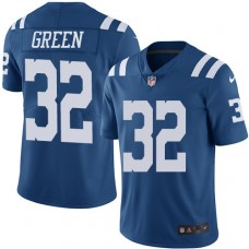 2016 Nike Indianapolis Colts 32 T.J. Green Royal Blue Mens Stitched NFL Limited Rush Jersey