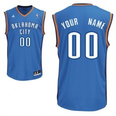 Adidas Oklahoma City Thunder Youth Custom Replica Road Royal NBA Jersey