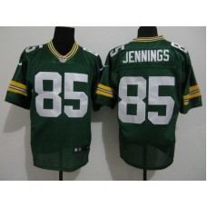 2017 NFL Green Bay Packers 85 Jennings Green Nike elite Jersey