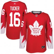 2017 NHL Toronto Maple Leafs Men 16 Darcy Tucker red jersey