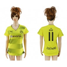 2017-2018 Club Dortmund home aaa verion women 11 soccer jersey
