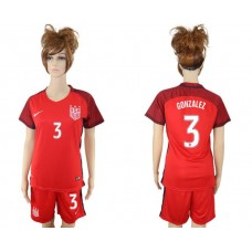 2017-2018 national women United States away 3 soccer jersey