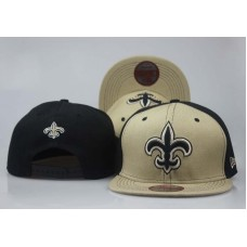 2018 NFL New Orleans Saints Snapback hat LT05051