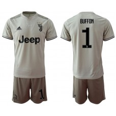 Men 2018-2019 club Juventus away 1 grey Soccer Jerseys