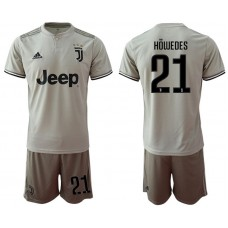 Men 2018-2019 club Juventus away 21 grey Soccer Jerseys