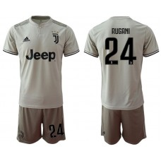Men 2018-2019 club Juventus away 24 grey Soccer Jerseys