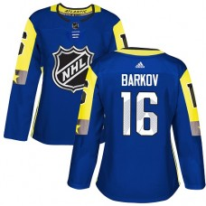 Adidas Florida Panthers 16 Aleksander Barkov Royal 2018 All-Star Atlantic Division Authentic Women Stitched NHL Jersey