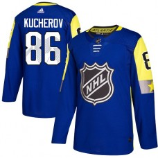 Adidas Men Tampa Bay Lightning 86 Nikita Kucherov Royal 2018 All-Star Atlantic Division Authentic Stitched NHL Jersey