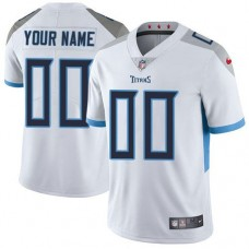 2019 NFL Men Nike Tennessee Titans White Road Customized Vapor Untouchable Limited jersey