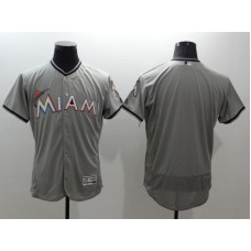 2016 MLB FLEXBASE Miami Marlins blank grey jerseys