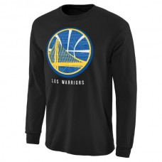 2016 NBA Golden State Warriors Noches Enebea Long Sleeve T-Shirt - Black