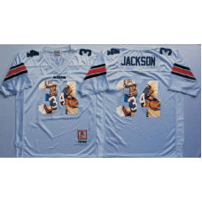 2016 NCAA Auburn Tigers 34 Jackson White Fashion Edition Jerseys