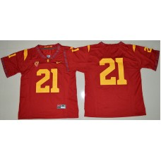 2016 NCAA USC Trojans 21 Adoree' Jackson Red College Football Jersey