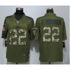 2016  New Nike Kansas City Chiefs 22 Peters Salute To Service Limited Jersey