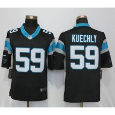 2016 Carolina Panthers 59 Kuechly Black Nike Limited Jerseys
