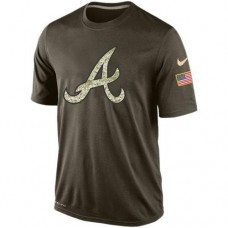 2016 Mens Atlanta Braves Salute To Service Nike Dri-FIT T-Shirt (2)