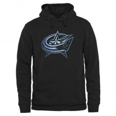2016 NHL Columbus Blue Jackets Rinkside Pond Hockey Pullover Hoodie - Black