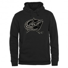 2016 NHL Mens Columbus Blue Jackets Black Rink Warrior Pullover Hoodie