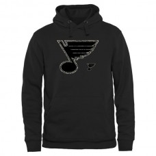 2016 NHL Mens St. Louis Blues Black Rink Warrior Pullover Hoodie