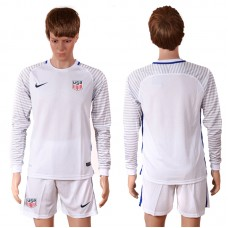 2016 National USA goalkeeper long sleeves soccer jerseys